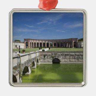Italy Mantua Province Mantua Courtyard Christmas Ornament