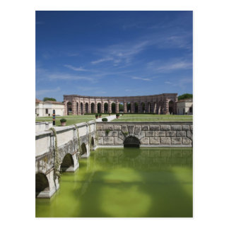 Italy Mantua Province Mantua Courtyard Postcard