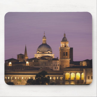 Italy, Mantua Province, Mantua. Town view and 2 Mouse Pad