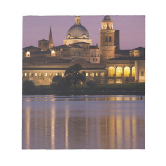 Italy, Mantua Province, Mantua. Town view and 2 Scratch Pads