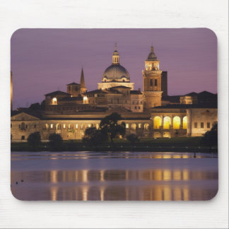 Italy, Mantua Province, Mantua. Town view and Mouse Pad