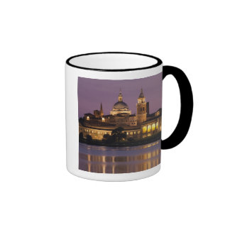 Italy, Mantua Province, Mantua. Town view and Ringer Coffee Mug