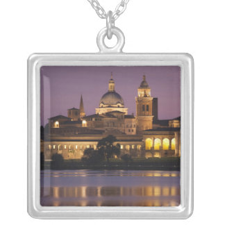 Italy, Mantua Province, Mantua. Town view and Jewelry