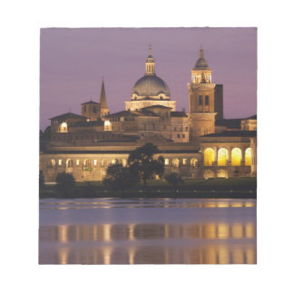 Italy, Mantua Province, Mantua. Town view and Scratch Pads