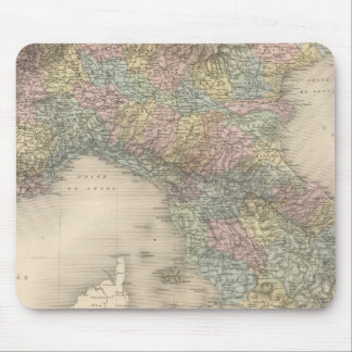 Italy Map 2 Mouse Pad