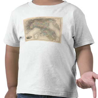 Italy Map 2 T Shirts