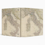 Italy Map 3 Ring Binder