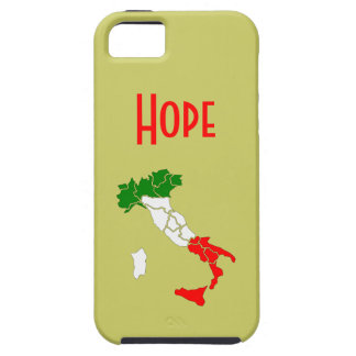 Italy Map and Name i-phone 5 Case