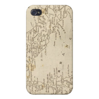 Italy Map by Arrowsmith iPhone 4 Cover