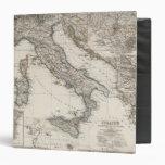 Italy Map by Stieler Binder