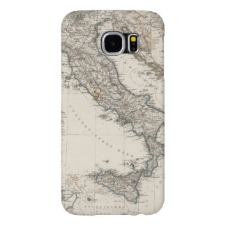Italy Map by Stieler Samsung Galaxy S6 Cases