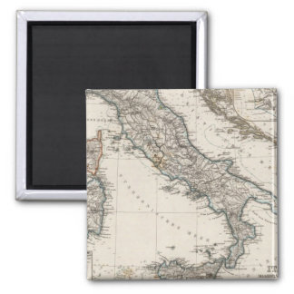 Italy Map by Stieler Magnet