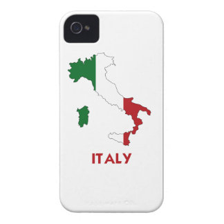 ITALY MAP iPhone 4 Case-Mate CASES