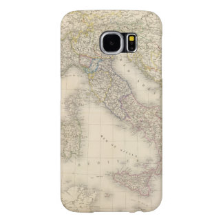 Italy Map Samsung Galaxy S6 Cases