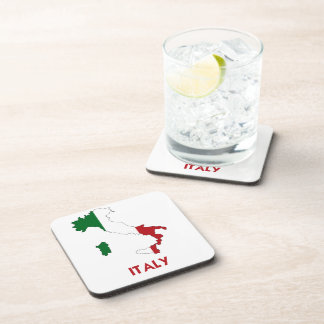 ITALY MAP BEVERAGE COASTER