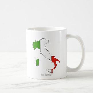 Italy Map Flag Coffee Mug