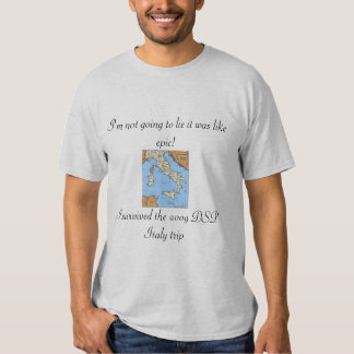 Italy-map, I'm not going to lie it was like epi... T-Shirt