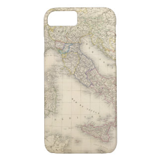 Italy Map iPhone 7 Case