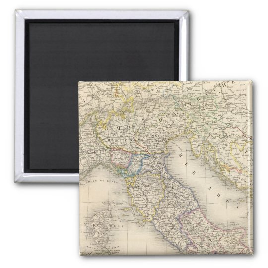 Italy Map Magnet