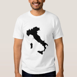 Italy Map Shape T Shirt