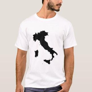 Italy Map Shape T-Shirt