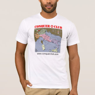 Italy Map T-Shirt
