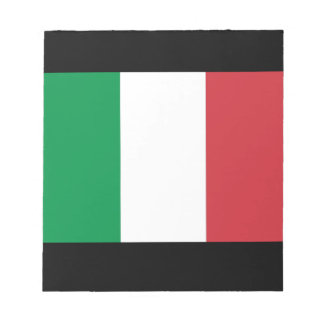 italy memo note pad