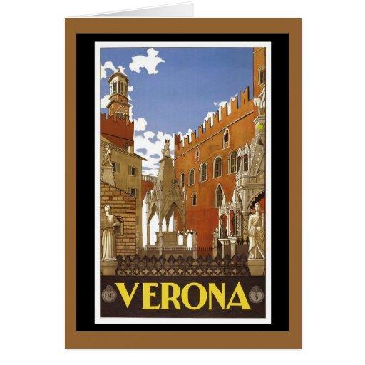 Italy Milan Assisi Napoli Verona San Remo Greeting Card