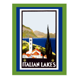 Italy Milan Assisi Napoli Verona San Remo Postcard