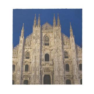 Italy, Milan Province, Milan. Milan Cathedral, Notepad