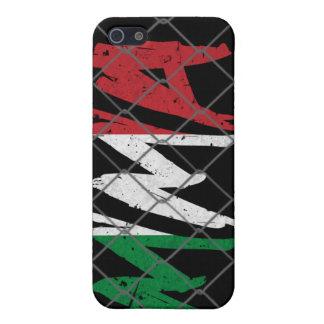 Italy MMA black iPhone 4 case