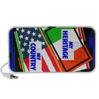 Italy,...my Heritage, USA,...my Country iPod Speakers