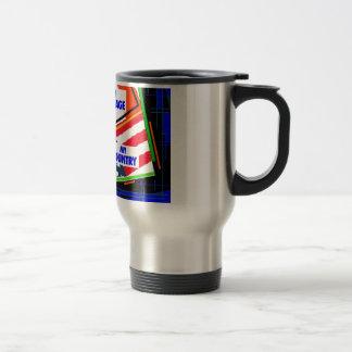 Italy,...my Heritage, USA,...my Country Travel Mug