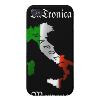 Italy Napoli (Naples) Heritage iPhone Case Case For iPhone 4