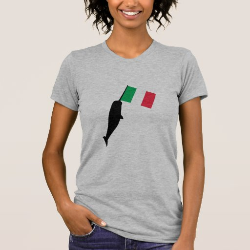 italy Narwhal T-shirts