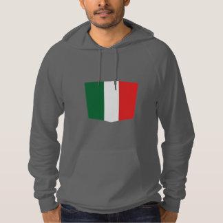 Italy, National Italian Flag Custom Hoodie Design