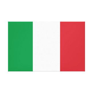 Italy National World Flag Canvas Print