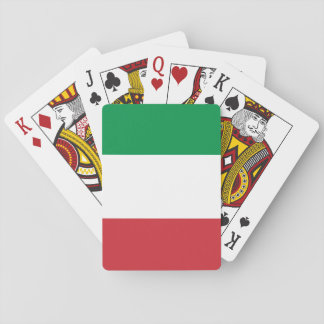Italy National World Flag Playing Cards