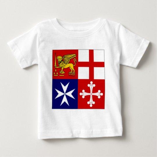 Italy Naval Jack Baby T-Shirt