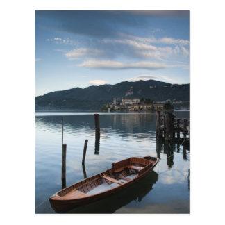 Italy, Novara Province, Orta San Giulio. Isola Postcard