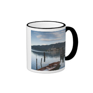Italy, Novara Province, Orta San Giulio. Isola Ringer Mug
