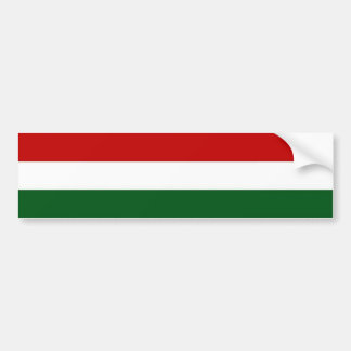 Italy or Mexico banner / flag Bumper Sticker