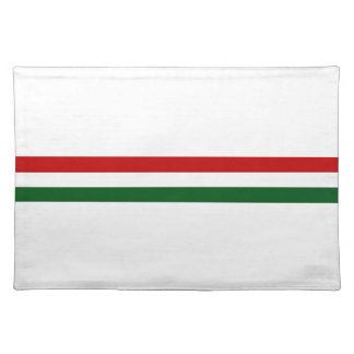 Italy or Mexico banner / flag Cloth Placemat