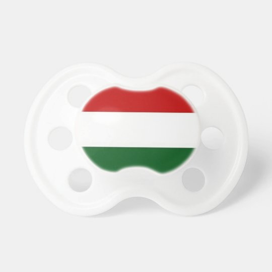 Italy or Mexico banner / flag Pacifier