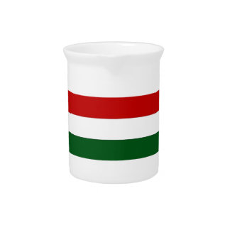 Italy or Mexico banner / flag Drink Pitchers
