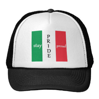 Italy or Mexico PRIDE Trucker Hat