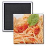 Italy, Orta, Lake Orta, spaghetti with tomato Magnet