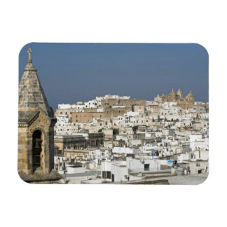 Italy, Ostuni, close up view of old city Magnet
