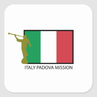 ITALY PADOVA MISSION LDS CTR SQUARE STICKERS