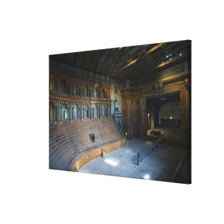 Italy, Parma, Teatro Farnese Canvas Print